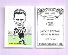 Grimsby Town Jackie Bestall 20 (FC)